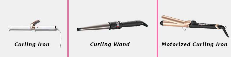 Types of Curling Irons